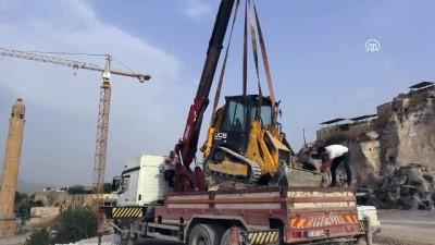 Hasankeyf'teki tarihi yapıları güçlendirme çalışmaları sürüyor - BATMAN
