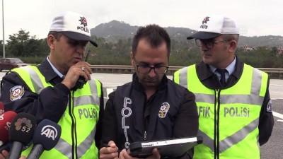 Hatalı sürücüler 'drone'dan kaçamadı - ORDU