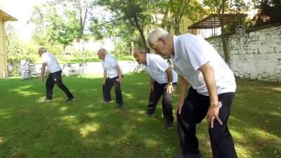 Huzurevi bocce takımı - KIRKLARELİ
