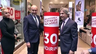 İstiklal Caddesi esnafından enflasyonla mücadeleye destek