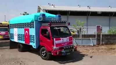 Kızılaydan Endonezyalı afetzedeler için yardım konvoyu - PALU