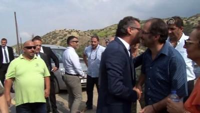 KKTC Başbakanı Erhürman, Aplıç sınır kapısını ziyaret etti - LEFKE