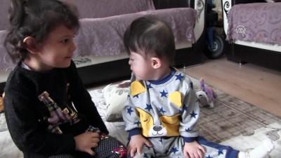 yurt disi - Mert bebek, duymak için ameliyat olacağı günü bekliyor - TEKİRDAĞ