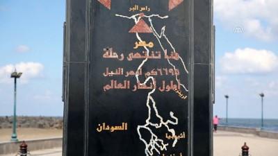 Nil'in Akdeniz'e döküldüğü fakat sularının karışmadığı bölge; Ras el-Bar - DİMYAT