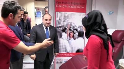 Sanayi ve Teknoloji Bakanı Varank'tan ilik donörlüğüne destek