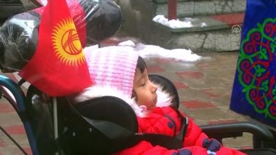 TİKA'dan Kırgızistan'a tekerlekli sandalye desteği - BİŞKEK