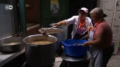 yurt disi - Venezuela'da Katolik Kilisesi'nden aş evleri