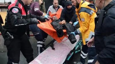 Yangında mahsur kalan yaşlı adamı itfaiye ekipleri kurtardı - KIRKLARELİ
