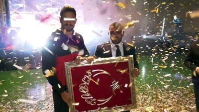 amator -  Amatör Spor Haftası'nda Başkan Tuna'ya ödül