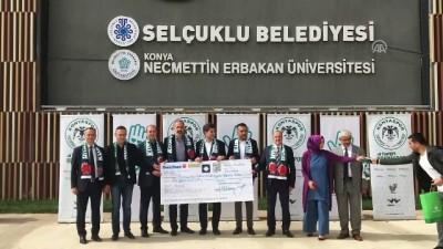 hayirseverler - Atiker Konyaspor-Fenerbahçe maçının hasılatı otizmli çocuklara bağışlandı - KONYA