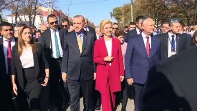 - Cumhurbaşkanı Erdoğan Gagavuzya'da Kültür Evi Açılışını Yaptı