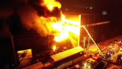 Kayapa Sanayi Bölgesi'nde yangın (6) - BURSA İzle