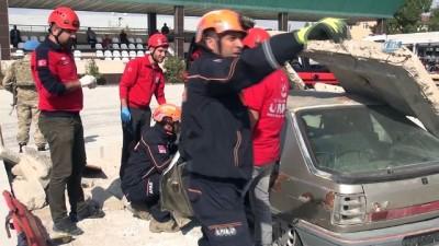 AFAD'dan deprem tatbikatı