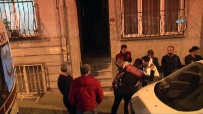 Beşiktaş'ta şüpheli ölüm... Polis gaz maskesiyle eve girdi