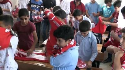 Beşiktaş taraftarlarından köy okuluna ziyaret - MERSİN