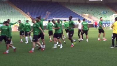 Çaykur Rizespor, Atiker Konyaspor maçının hazırlıklarını sürdürüyor