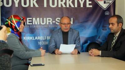 Danıştayın 'Öğrenci Andı' kararına tepkiler - KIRKLARELİ