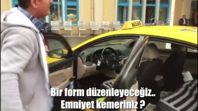 Emniyetten 10 ilde taksi denetimi - ANKARA