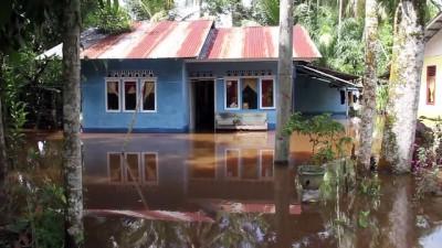 Endonezya'daki şiddetli yağışlar - AÇE
