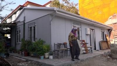Evi yol ortasında kaldı belediye yeni ev yaptı - DENİZLİ