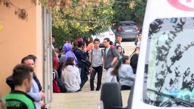 Gaz kaçağı iddiası bütün okulu boşalttırdı
