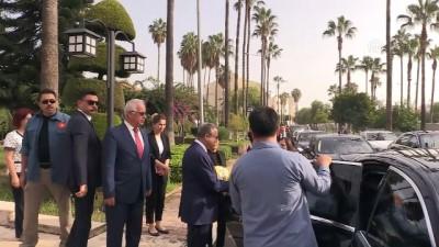 is insanlari - KKTC Başbakanı Erhürman'dan, Vali Su'ya ziyaret - MERSİN