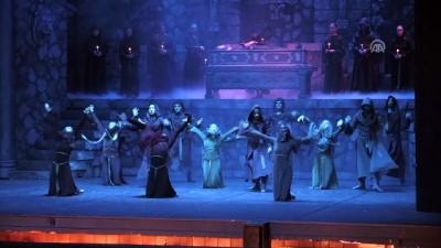 MDOB, Hamlet balesinin provasını yaptı - MERSİN Haberi