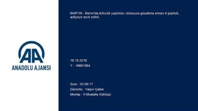 Tefecilik operasyonu - BARTIN