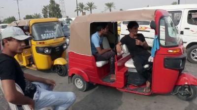 Uzak Doğu'dan Bağdat'a uzanan motor taksi 'Tuk Tuk' - BAĞDAT