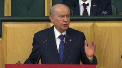 Bahçeli: 'İstanbul Büyükşehir Belediye Başkanlığı dışında her yerde seçimlerine katılacağız - TBMM