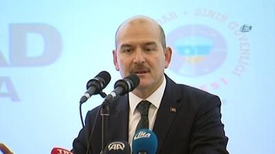 İçişleri Bakanı Süleyman Soylu:' Türkiye'nin içini oymaya çalışan organizasyonların çoğu Avrupa ülkelerinde istedikleri gibi kendi dizaynlarını gerçekleştirmeye çalışıyor'
