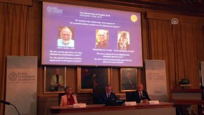 Nobel Fizik Ödülü sahiplerini buldu - STOCKHOLM