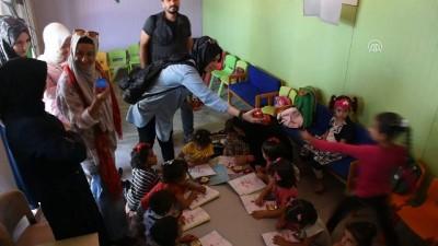 Savaşın çocuklarına eğitim desteği sürüyor - SURİYE