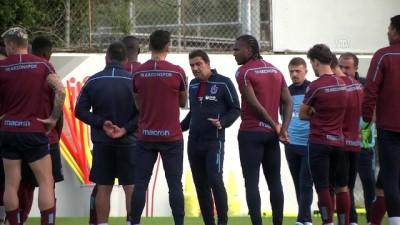 Trabzonspor, Akhisarspor maçı hazırlıklarını sürdürdü - TRABZON
