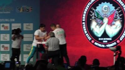 zihinsel engelliler - Dünya Bilek Güreşi Şampiyonası'nda büyük başarı