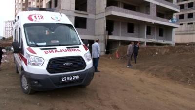 Elazığ'da 10'uncu kattan düşen işçi hayatını kaybetti