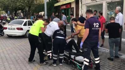 Fethiye'de sokak ortasında silahlı kavga: 2 Yaralı