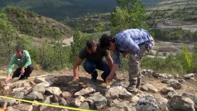 Kahin Tepe'de Karadeniz'in ilk taş atölyesine rastlandı - KASTAMONU