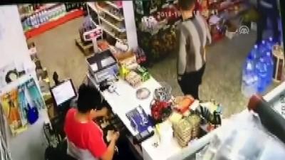 Marketten yankesicilik güvenlik kamerasında - BURSA