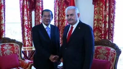 TBMM Başkanı Yıldırım, Kamboçya Başbakanı ile görüştü - İSTANBUL