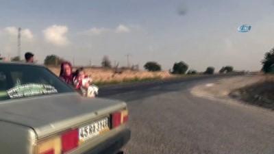Uşak'ta sürücüler drone ile kontrol edildi