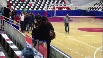 spor musabakasi - Voleybol maçında gerginlik - MALATYA