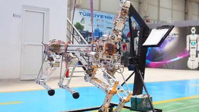 Robot 'ARAT' dörtnala koşacak - KONYA