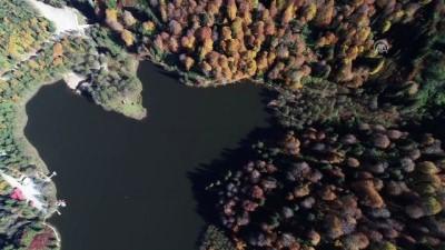 Saklı cennet Karagöl sonbaharda bir başka güzel - ARTVİN