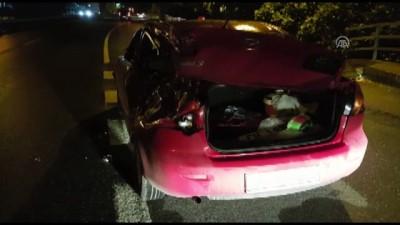 Zincirleme trafik kazası: 1 ölü, 9 yaralı - TRABZON
