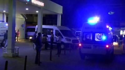 65 işçi gıda zehirlenmesi nedeniyle hastaneye kaldırıldı