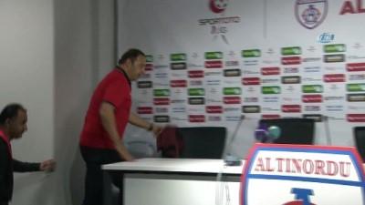 Altınordu - Eskişehirspor maçının ardından