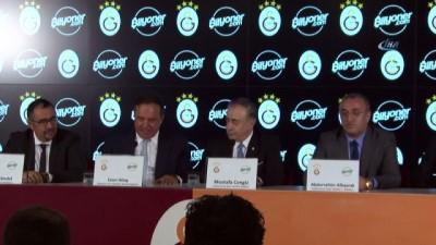Galatasaray, forma sponsorluğu için Bilyoner.com'la anlaştı -2-