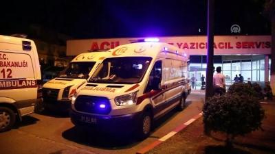 İskenderun'da silahlı saldırı: 2 yaralı - HATAY