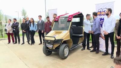 TBMM Başkanı Yıldırım elektrikli otomobil kullandı - ERZİNCAN